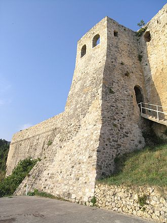 Jelena Balšić - Wall of Ulcinj, the seat of  Đurađ II