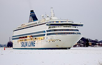 Silja Line - Image: MS Silja Europa leaving Turku