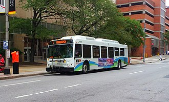 Route 1 (MTA Maryland) - Image: MTA Maryland 10009 1