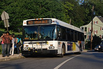 Greater Baltimore Bus Initiative - The extension of Route M-10 (now known as Route 60) to Villa Julie College (now known as Stevenson University) was an unplanned change during the Greater Baltimore Bus Initiative