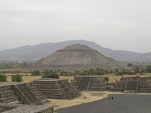 Pyramid of the Sun - The Sun pyramid