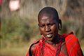 Maasai Youngster, Outside Masai Mara, 2006.JPG