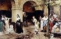 Madame Roland incarcérée à la prison de Sainte Pélagie.jpg