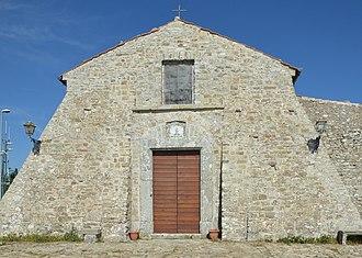 Monte Stella (Cilento) - Image: Madonna del Monte Stella front
