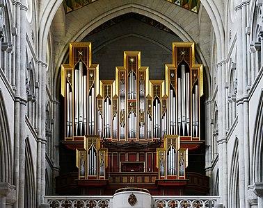 Pipe organ, Almudena Cathedral