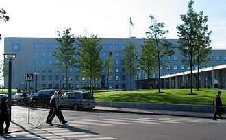 History of Maersk - Mærsk global headquarters, located in Copenhagen, Denmark.