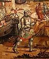 Maestro dei cassoni campana, teseo e il minotauro, 1510-15 ca. (avignone, petit palais) 06.jpg