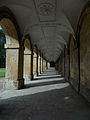 Magdalen College - arcades of New Building.jpg