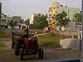 Mahindra tractor at Kukatpally.jpg