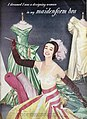 Maidenform's Chansonette 1955 - Costume by Arnold Scaasi - Satins by Skinner.jpg