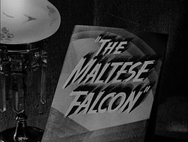 Openingstitels voor The Maltese Falcon