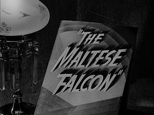 "The Big Goodbye - References were deliberately included in ""The Big Goodbye"" to the 1941 film The Maltese Falcon."