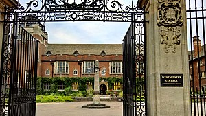 Westminster College, Cambridge - Front Gate of Westminster College