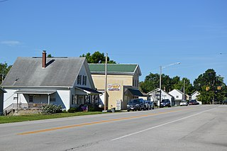 Port Jefferson, Ohio Village in Ohio, United States