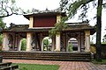 Majestic arch leading to the temple behind Thien Mu pagoda (31764632176).jpg