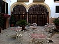 Majorque Carrer Sant Jaume Hotel Born Patio - panoramio.jpg
