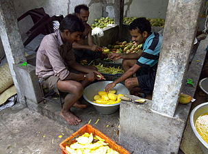 Making of Mamiditandra (mango sweet of Andhrapradesh) (9).jpg