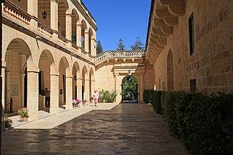 San Anton Palace - Courtyard at San Anton Palace