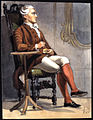 Man i historisk dräkt som sitter i en stol. Fritz von Dardel - Nordiska Museet - NMA.0037686.jpg