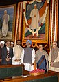 Manmohan Singh, the Leader of Opposition in Lok Sabha, Shri L.K. Advani, the Chairperson, UPA, Smt. Sonia Gandhi and other dignitaries paid tributes to the former Prime Minister.jpg
