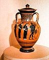 Manner of the Antimenes Painter - ABV 278 31 - gods - Theseus killing the Minotaur - Erlangen AS M 61 - 02.jpg