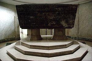 Quezon Memorial Shrine - Sarcophagus housing the remains of President Quezon