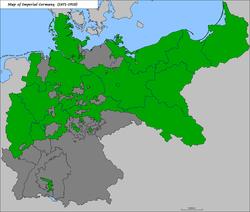 プロイセンの位置