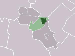 Odijk - Image: Map NL Bunnik Odijk