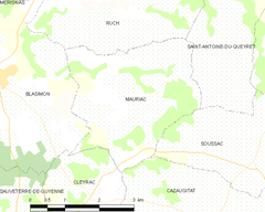 Map commune FR insee code 33278.png