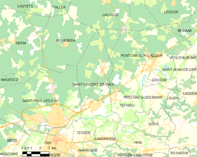 Map commune FR insee code 40283.png