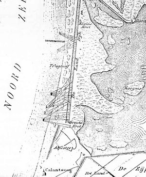 Battle of Callantsoog - Map of the Landing at Callantsoog