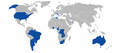 Map of Aermacchi MB-326 world operators.png
