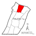 Map of Taylor Township, Fulton County, Pennsylvania Highlighted.png