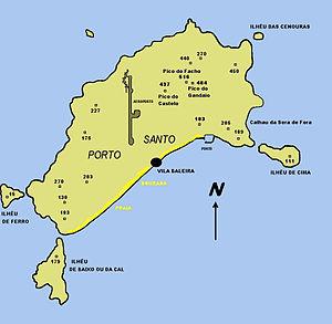 mapa da ilha do porto santo Ilhéus do Porto Santo – Wikipédia, a enciclopédia livre mapa da ilha do porto santo