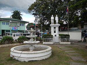 Maragondon, Cavite - Town plaza