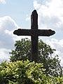 Marest-Dampcourt (Aisne) croix de chemin à Dampcourt.JPG