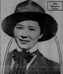 "Margaret ""Mom"" Chung in 1914"