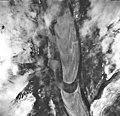 Margerie Glacier, tidewater glacier and hanging glaciers, September 17, 1966 (GLACIERS 5626).jpg