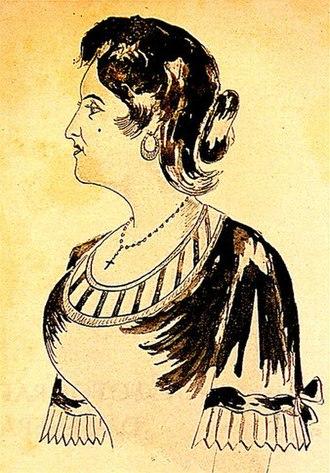 Fado - Maria Severa, fado singer (1820-1846)