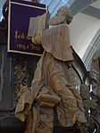 Marienstiftskirche Lich Kanzel Thomas von Aquin 02.JPG