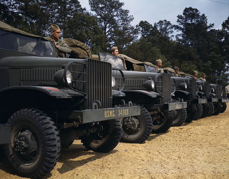 File:Marine motor detachment, New River, NC.jpg