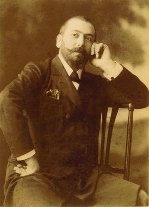 Marius Sestier - Sestier in 1896, photographed by Henry Walter Barnett