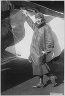 Marjorie Stinson, only woman to whom a pilot's license has been granted by Army & Navy Committee of Aeronautics.... - NARA - 533715.tif