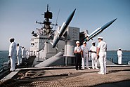 USS Josephus Daniels weapon