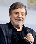 The central three characters of the original trilogy were played by Mark Hamill (Luke), Harrison Ford (Han), and Carrie Fisher (Leia), respectively.