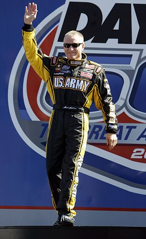 Mark Martin - Martin at the 2007 Daytona 500