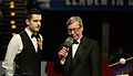 Mark Selby and Rolf Kalb at Snooker German Masters (DerHexer) 2015-02-08 01.jpg