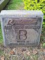 Marker stone at East Sheen Cemetery.jpg