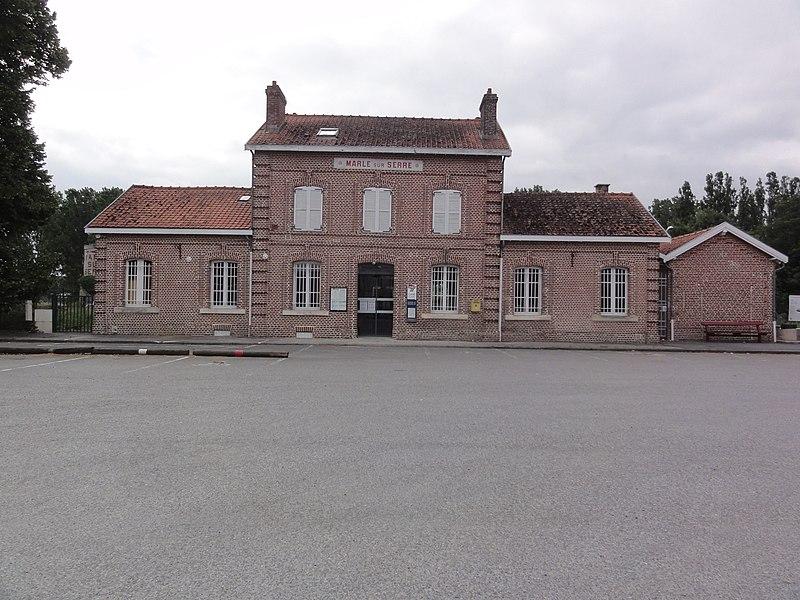 Marle-sur-Serre (Aisne) gare
