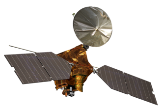 Mars Reconnaissance Orbiter - Artist's impression of the Mars Reconnaissance Orbiter spacecraft.